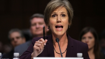 Yates Explains Refusal To Defend Trump Immigration Executive Order