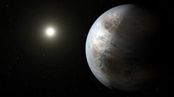 Astronomers Find A Watery, Cloudy Atmosphere On An Exoplanet