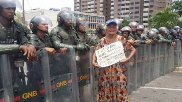 Venezuela's 'Grandparents' March' Is Met With Riot Cops
