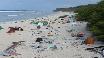 This Tiny Remote Island Is Getting Buried Under Plastic Trash