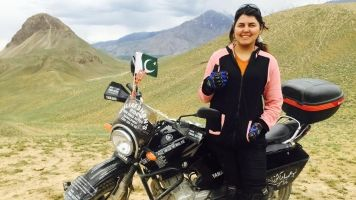 Women's Empowerment In Pakistan Is Spreading Via Motorcycle