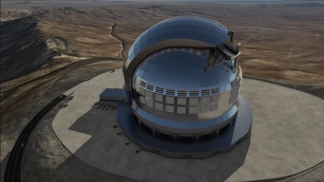 The World's Largest Optical Telescope Is Coming Together