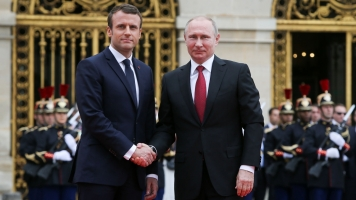 Macron Speaks Frankly About Russia — As Putin Stands Beside Him