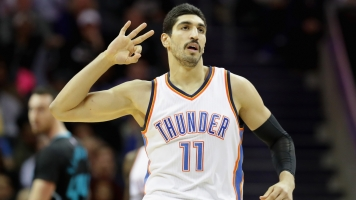 NBA's Kanter Says His Politics Got His Dad Arrested In Turkey