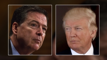 Comey: Trump Asked How FBI Could 'Lift The Cloud' Of Russia Probe