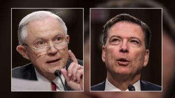 Jeff Sessions Didn't Exactly Give James Comey A Performance Review