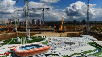 Report Finds 17 Workers Have Died Building Russian Soccer Stadiums