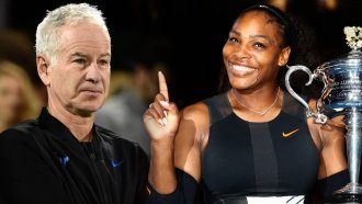 John McEn-No: Tennis Star Stands By Serena Williams Slight