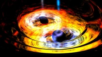 Dancing Black Holes Could Support Einstein's Theory Of Relativity