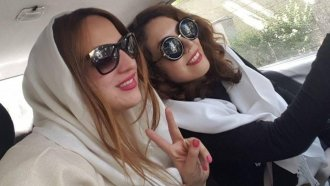 These Iranian Women Are Protesting Their Country's Head-Covering Law