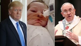 Why An Infant Has Gotten The Attention Of President Trump And The Pope