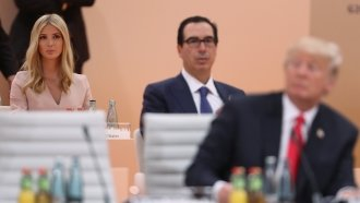 Ivanka Trump Raises Eyebrows For Filling In At A G-20 Meeting