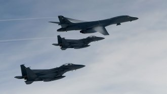 The US Air Force Sent Bombers To The Korean Peninsula