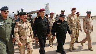 Iraq's Prime Minister Says Iraqi Forces Have Liberated Mosul From ISIS