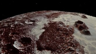 NASA Is Letting You See What It's Like To Fly Over Pluto