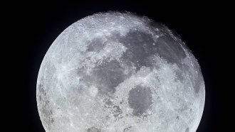 The Moon Is A Lot Wetter Than Scientists Originally Thought