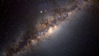 The Milky Way Might Have Borrowed Matter From Other Galaxies