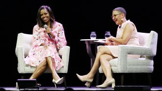 Michelle Obama Wants Women To Keep Breaking Glass Ceilings