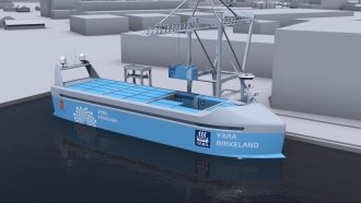 You've Heard Of Self-Driving Cars, But How About Autonomous Ships?