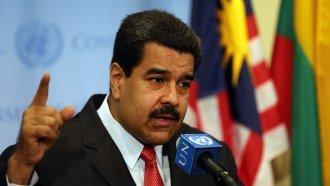 US Sanctions Venezuelan 'Dictator' Nicolás Maduro