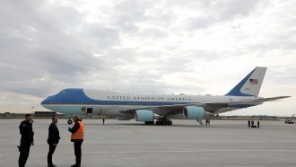 The Next Air Force One Replacements Might've Been Found In A Desert