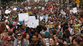Boston 'Free Speech Rally' Ends Early, Thousands Join Counterprotest