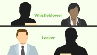 Examining The Line Between Whistleblowing And Leaking