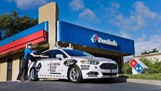 Domino's Will Deliver Pizza With Autonomous Cars