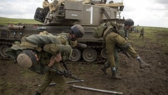 Israel Stages Large Military Drills On Lebanon, Syria Borders