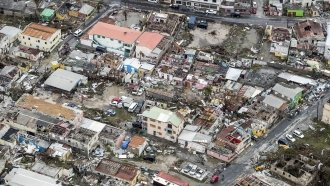 Deaths, Destruction Reported As Hurricane Irma Pummels The Caribbean