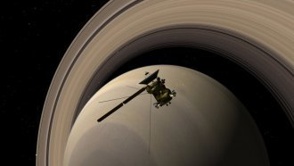 Cassini's 13 Years Exploring Saturn Just Came To An End