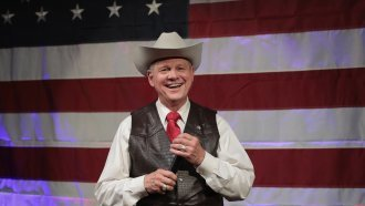 Roy Moore Wins Alabama Primary