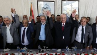 Palestinian Authority Members Start Reconciliation With Hamas In Gaza