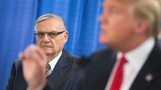 Joe Arpaio's Pardon Stands — But His Conviction Might, Too