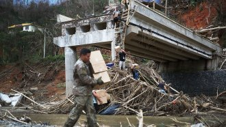 A Law Critics Say Stifles Aid To Puerto Rico Is Back In Place