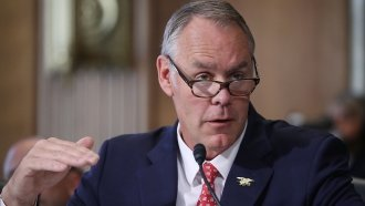 Zinke's Mix Of Fundraisers, Government Work Raises New Ethics Concerns