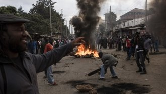 Kenya's Opposition Leader Calls For More Protests, Drops Out Of Race