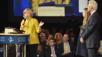 Clinton Foundation Won't Return Donations From Harvey Weinstein