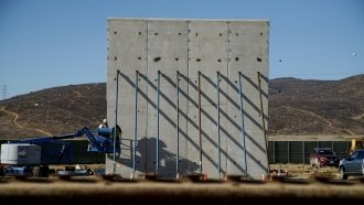 8 Border Wall Prototypes Near The Testing Phase