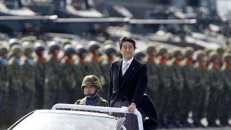 Japan's PM Might Get A Shot At Revising Its Pacifist Constitution