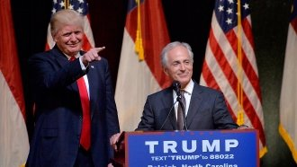 A History Of Donald Trump's Feud With Bob Corker