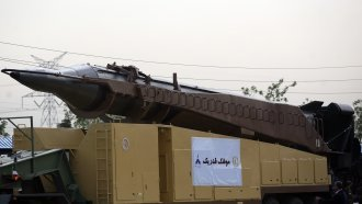 The US May Sanction Iran — But That Won't Stop Iran's Missile Program