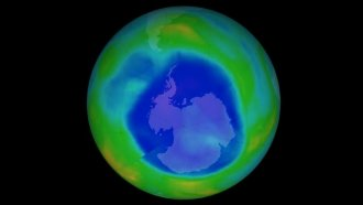 The Ozone Hole Over Antarctica Just Did Something It Hasn't In Decades