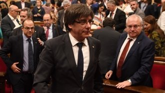 Catalonia Leader Carles Puigdemont Turned Himself In