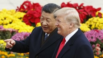 In China, Trump Masked His Trade Complaints With Chinese Compliments