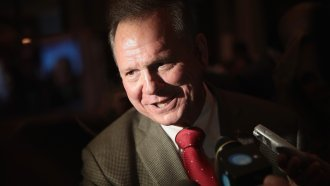 With No Way To Replace Him, Some Republicans Still Support Roy Moore