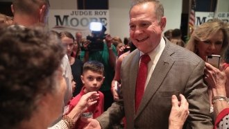As Washington Republicans Flee, Alabama GOP Stands By Roy Moore