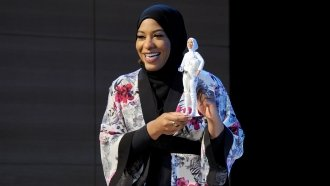 An Olympic Fencer Inspired A First For Barbie