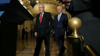 Senate Republicans Will Tack Individual Mandate Repeal Onto Tax Bill