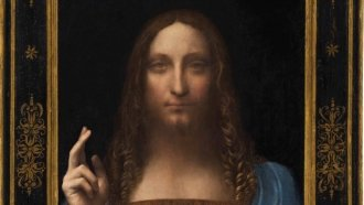 A Da Vinci Painting Is The Most Expensive Work Of Art Sold At Auction